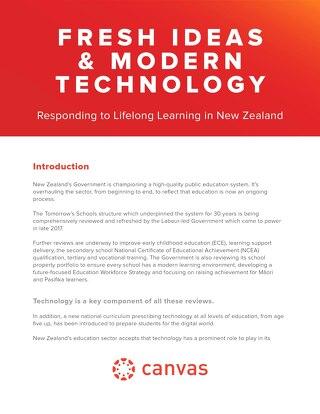 Fresh Ideas & Modern Technology
