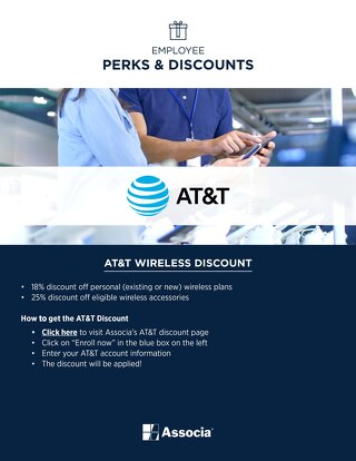 Associa Employee AT&T Perks