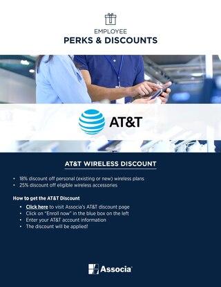 Associa Employee AT&T Perks