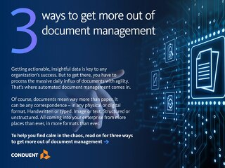 3 ways to get more out of document management