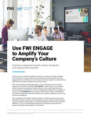 Whitepaper: See What's Included in FWI ENGAGE
