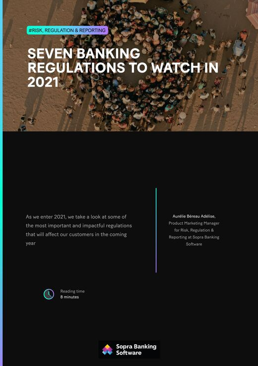 As we enter 2021, we take a look at some of the most important and impactful regulations that will affect our customers in the coming year.