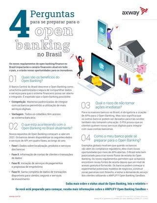 4 Perguntas para-se preparar para o open banking no Brasil