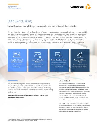 EMR Event Linking