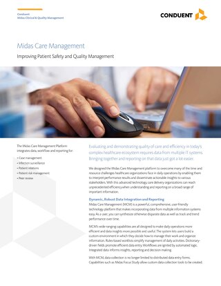 Midas Care Management: Improving Patient Safety and Quality Management