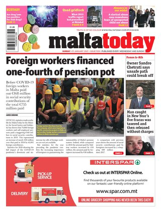 MALTATODAY 31 January 2021