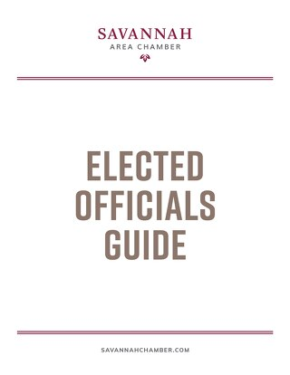 Elected Officials Guide for 2021