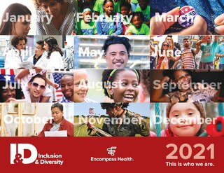 2021 Inclusion & Diversity Calendar