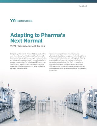 Adapting to Pharma's Next Normal