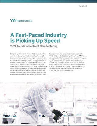 A Fast-Paced Industry is Picking Up Speed