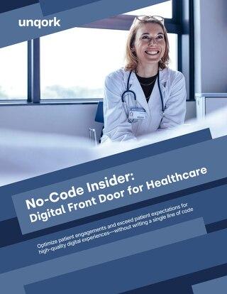 No-Code Insider: Digital Front Door for Healthcare