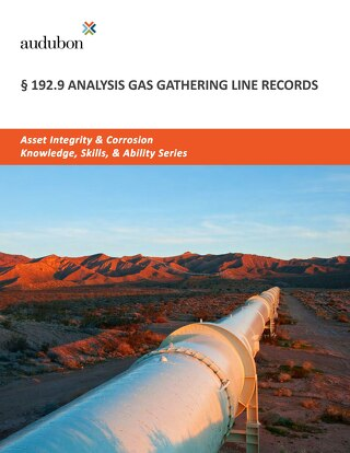 192.9 Analysis Gas Gathering Line Records