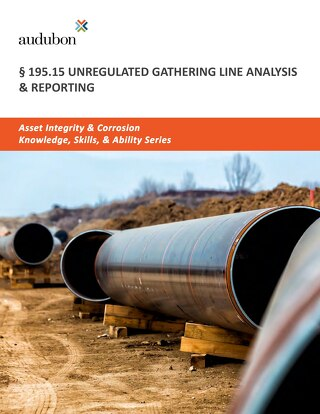 195.15 Unregulated Gathering Line Analysis & Reporting