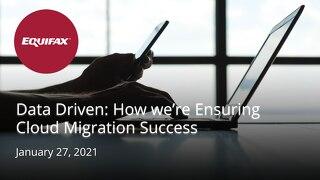 Data Driven: How we're Ensuring Cloud Migration Success