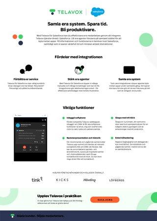 Salesforce - Produktblad