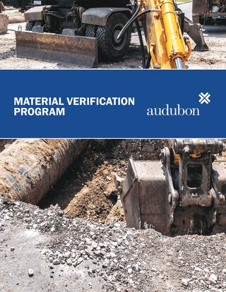 Material Verification Program Marketing