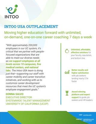 Higher Education Testimonial - University of California