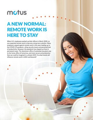 A New Normal: Remote Work Is Here To Stay Report