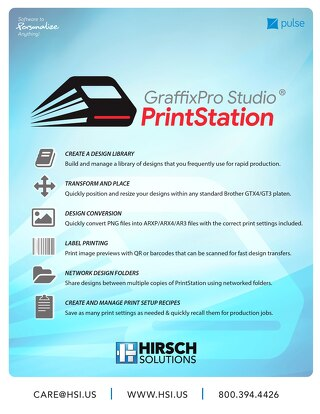 Printstation Features