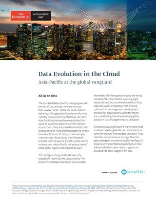 Data's Evolution in the Cloud: Asia-Pacific at the Global Vanguard