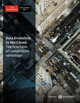 Data's Evolution in the Cloud: The Lynchpin of Competitive Advantage