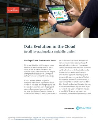 Data's Evolution in the Cloud: Retail Leveraging Data Amid Disruption