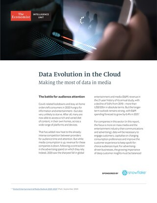 Data's Evolution in the Cloud: Making the Most of Data in Media