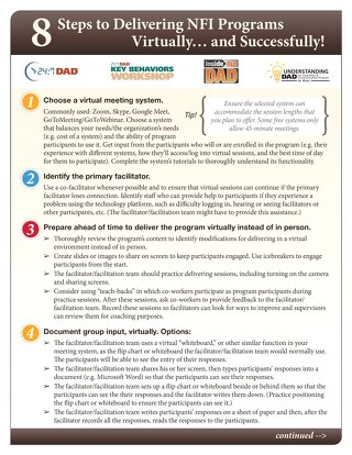 7 Steps to Delivering NFI Programs Virtually... and Successfully!