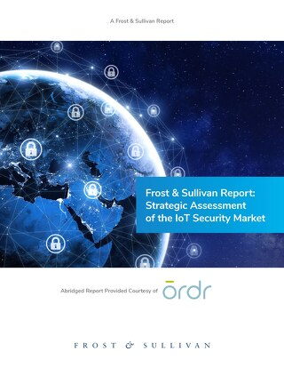Frost & Sullivan Report: Strategic Assessment of the IoT Security Market