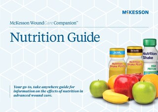 McKesson WoundCare Companion™ nutrition pocket guide