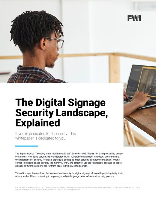 What You Need to Know About Digital Signage Security