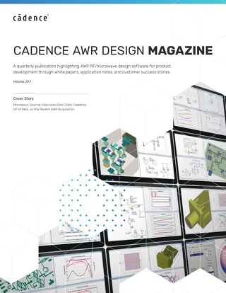 Cadence AWR Design Magazine Vol. 20.1