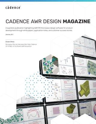 Cadence AWR Design Magazine Vol. 20.1