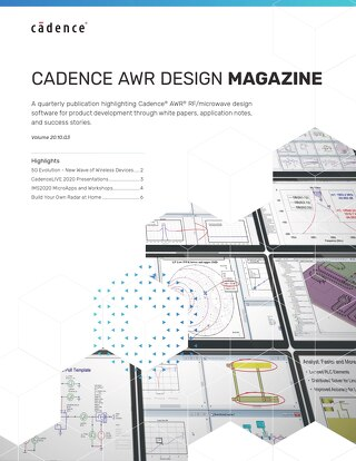 Cadence AWR Design Magazine Vol. 20.3