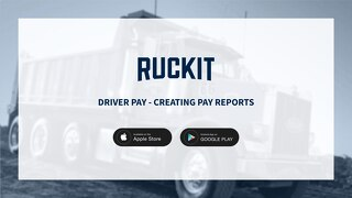 Driver Pay Reports