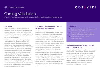 Coding Validation solution