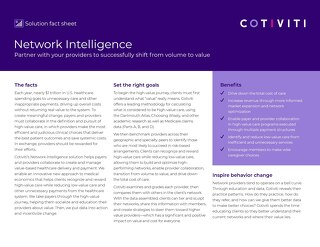 Network Intelligence solution