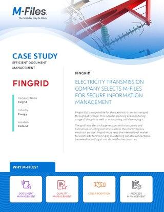 Case Study: Fingrid