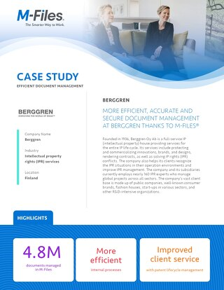 Case Study: Berggren