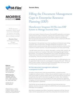 Case Study: Morris & Associates