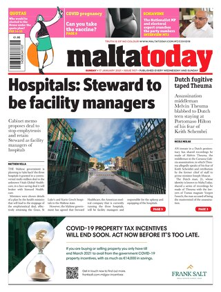MALTATODAY 17 January 2021