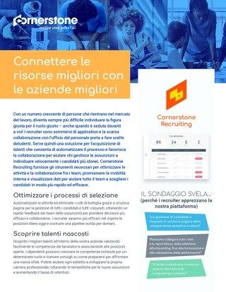 Recruiting: Connettere le risorse migliori con le aziende migliori