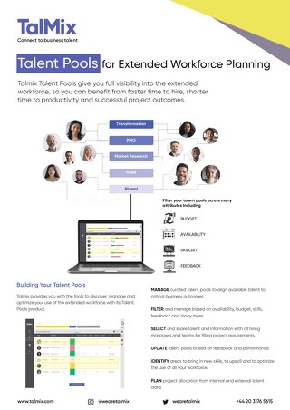 Launching Talent Pools
