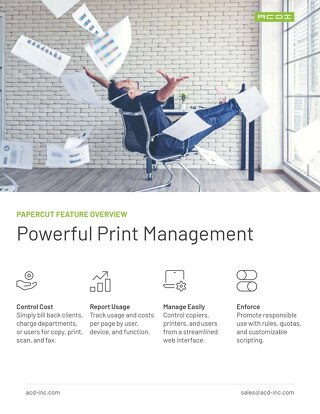 PaperCut Overview