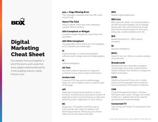 Digital Marketing Cheat Sheet