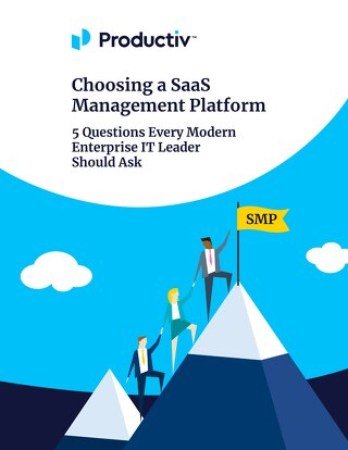 Choosing a SaaS Management Platform