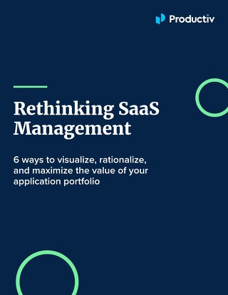 Rethinking SaaS Management