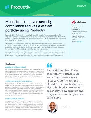 MobileIron Case Study