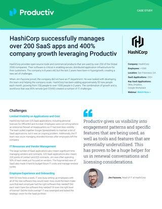 HashiCorp Case Study