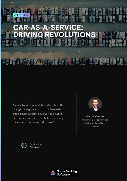 How successful will Car-as-a-Service become, and what are the challenges facing the model in becoming mainstream?
